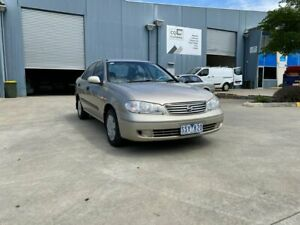 2004 Nissan Pulsar N16 MY04 ST Gold 4 Speed Automatic Sedan Newport Hobsons Bay Area Preview
