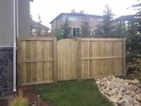 We do fences, decks, landscaping and more!