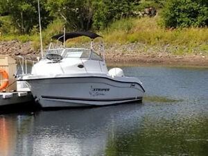 2003 Seaswirl Striper 2301 Walkaround / Yamaha 200HP FI