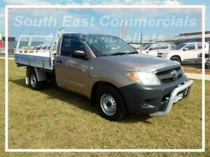 2008 Toyota Hilux TGN16R MY08 Workmate Bronze Manual Cab Chassis