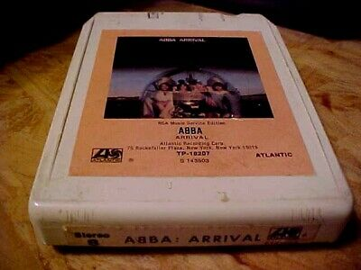 "ABBA ""arrival"" 8 TRACK TAPE cartridge S143503 atlantic 1976"