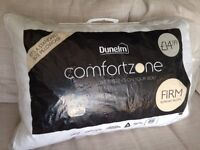 Dunhelm Comfortzone duck feather pillow - used a couple of times RRP £14.99