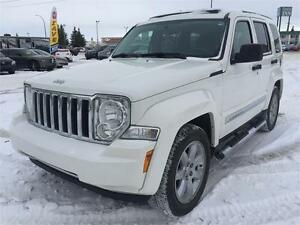 2010 Jeep Liberty 4x4 LIMITED   **LEATHER-NAV-SUNROOF**