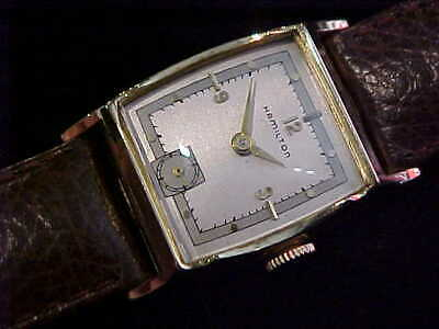 1949 Hamilton Kirby With Two-Tone Dial In All Original In Signed Kirby Case