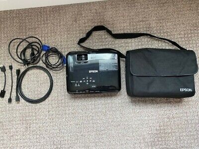 Epson EX7230 WXGA LCD Projector & Bag H645A excellent condition