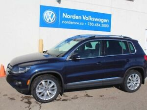 2017 Volkswagen Tiguan COMFORTLINE 4MOTION AWD - LEATHER / SUNRO