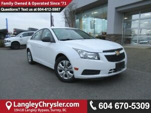 2013 Chevrolet Cruze LS <B>*AIR CONDITIONING*POWER GROUP*<b>