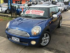 2007 Mini Cooper Blue Manual Coupe Dandenong Greater Dandenong Preview