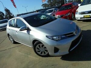 2015 Toyota Corolla ZRE182R Ascent Silver 7 Speed CVT Auto Sequential Hatchback Belconnen Belconnen Area Preview