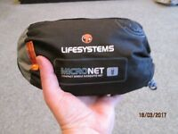 Life-System Micro Mosquito Net (single) NEW/UNOPENED