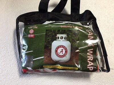Alabama Crimson Tide Grill Propane Tank Wrap Cover New BBQ Accessory Decor Logo2