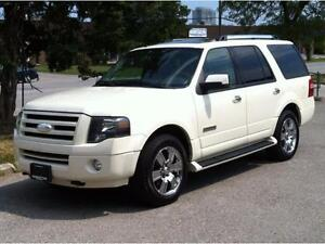 2007 FORD EXPEDITION LIMITED 4X4 - 8 PASS|ROOF|TOW PKG|R.STARTER