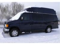 2006 Ford E350 CARGO ONLY 114,847 KMS!  HIGH TOP VAN EXT 1 TON