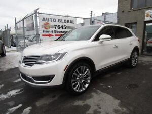 Lincoln MKX AWD -modele Reserve 2016