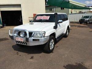 2007 Nissan Patrol GU IV MY07 ST (4x4) White 4 Speed Automatic Wagon Darwin CBD Darwin City Preview