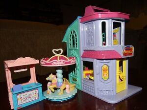 maison poupées  doll house fisher price loving family