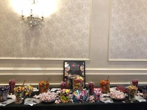 Candy Bars for Weddings, Corporate Events, Bar Mitzvahs & More!