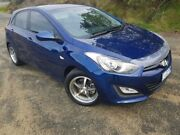 2012 Hyundai i30 GD Active Santorini Blue 6 Speed Sports Automatic Hatchback South Burnie Burnie Area Preview