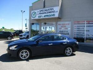 2013 Nissan Maxima 3,5 SV  63$/SEM LE PAIEMENT ES INCROYABLE