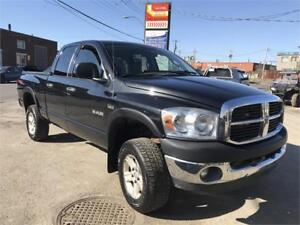 2008 Dodge Ram 1500 SLT 4X4 5.7 L GAR 1 AN FINANCEMENT DISPONIBL