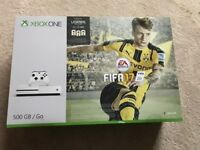 Nearly new XBOX ONE S 500GB - with 5 games (on CD) and headset - can deliver