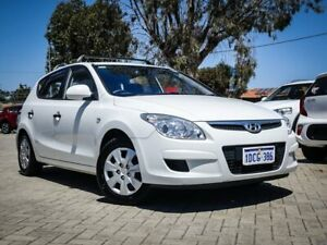 2009 Hyundai i30 FD MY09 SX White 4 Speed Automatic Hatchback Morley Bayswater Area Preview