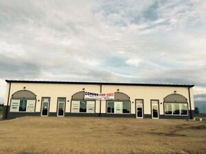 Commercial Industrial Condominium units for sale in Red Deer.