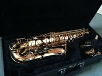 Jupiter alto saxophone in great condition, one careful owner - £395