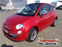 Fiat 500 Lounge Convertible Cuir MAGS 2013
