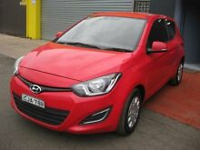 2012 Hyundai i20 PB MY12.5 Active Red 6 Speed Manual Hatchback Camden Camden Area Preview