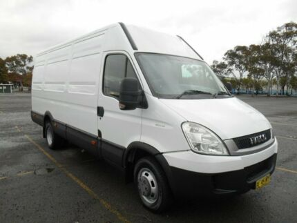 2011 Iveco Daily MY07 50C18 LWB/Hi White Van 3.0l RWD Condell Park Bankstown Area Preview