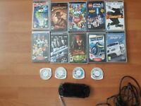 PSP+games