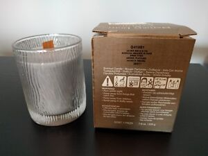 PartyLite Nature's Light – Wooden Wick Scented Candle