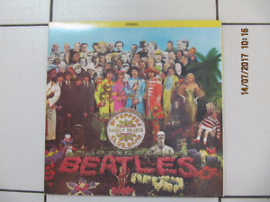 SGT. Peppers's Lonely Hearts Club Band WhiteMarble Vinyl Edition