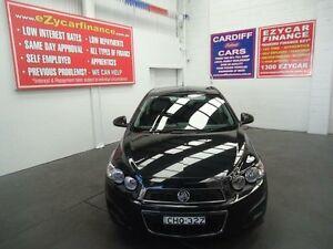 2012 Holden Barina TM MY13 CD Black 6 Speed 4 Sp Automatic Sedan Cardiff Lake Macquarie Area Preview