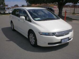 2008 Honda Odyssey 20 MY06 Upgrade White 5 Speed Sequential Auto Wagon Victoria Park Victoria Park Area Preview