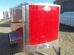 CARGOMATE 5X8 RED BARN DOOR $2487.00