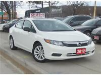 2012 Honda Civic EX Sunroof/Alloys *Accident Free*
