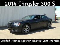 2014 Chrysler 300 S ~ Loaded~Lo Kms~Lo Price ~ Great Financing!!