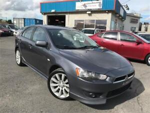 MITSUBISHI LANCER 2009 GTS CUIR / TOIT OUVRANT / MAGS / FULL !!