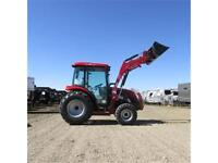New 2015 TYM T554 HSTCAB - 55 HP Ranch Tractor w. Cab & Front Lo