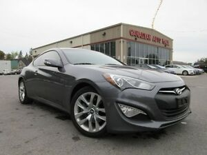 2015 Hyundai Genesis 3.8L PREMIUM, LEATHER, ROOF, NAV, 15K!
