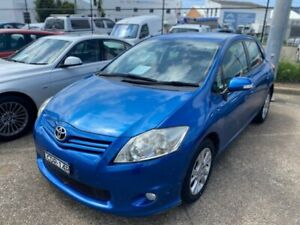 2011 Toyota Corolla ZRE152R MY11 Ascent Blue 6 Speed Manual Hatchback Wickham Newcastle Area Preview