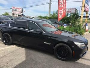 2011 BMW 7 Series 750i|NAVI|BLACK ON BLACK|ACCIDENT FREE|
