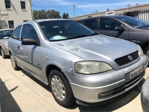 2002 Holden Astra TS City Silver Automatic Hatchback Hamilton North Newcastle Area Preview