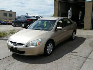 2004 Honda Accord LX Sedan 173 Kms $3995 Cert