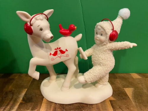 Dept 56 Snowbabies - Do You Hear What I Hear Deer #6008638  New for 2021