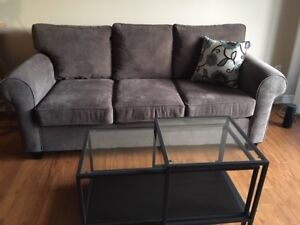 Couch and Love seat less than 1 yr old smoke free