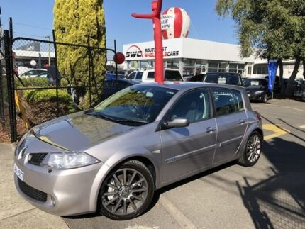 2006 Renault Megane II B84 Phase II Sport 225 Cup Silver 6 Speed Manual Hatchback Seaford Frankston Area Preview
