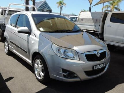 2010 Holden Barina TK MY10 Silver 4 Speed Automatic Hatchback South Nowra Nowra-Bomaderry Preview